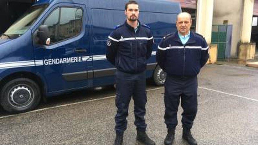 VIDÉO. Aveyron: deux réservistes de la gendarmerie reviennent sur leur mission à Saint-Martin
