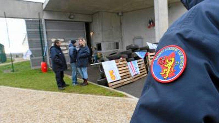 Les surveillants de la maison d'arrêt de Druelle ont levé le blocage hier