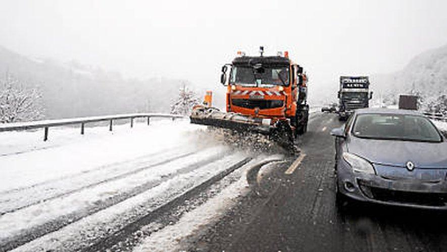 Météo: l'A75 fermée aux poids lourds jusqu'à 17heures