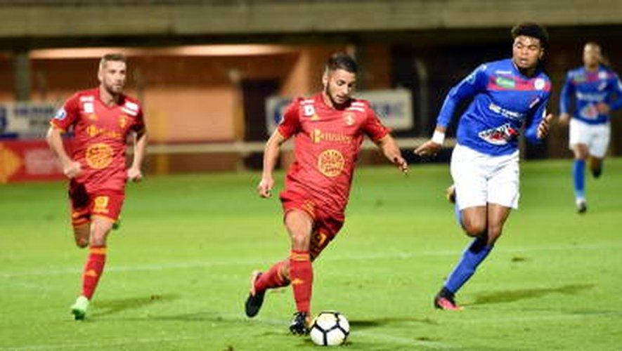 Concarneau - Rodez : suivez le match en direct