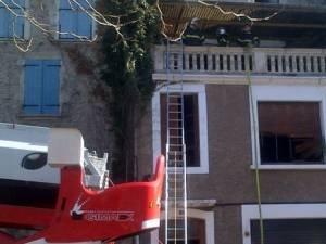 Villefranche : une maison brûle, son propriétaire introuvable