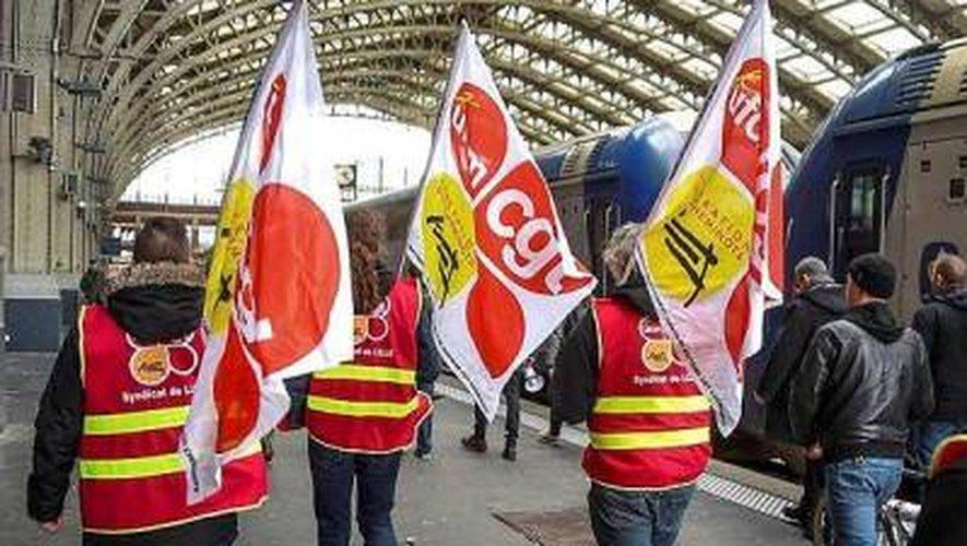 Réforme de la SNCF : près de 9 cheminots sur dix en grève en Aveyron