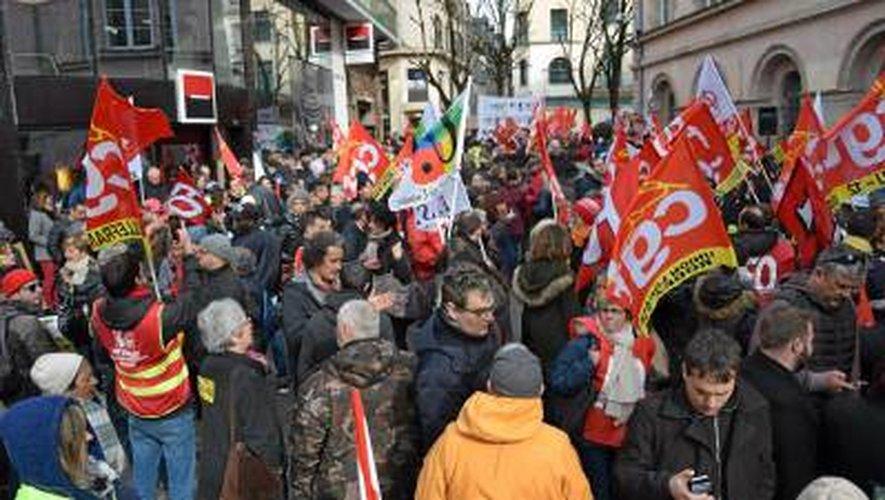 Aveyron : journée de grève dans le privé et le public