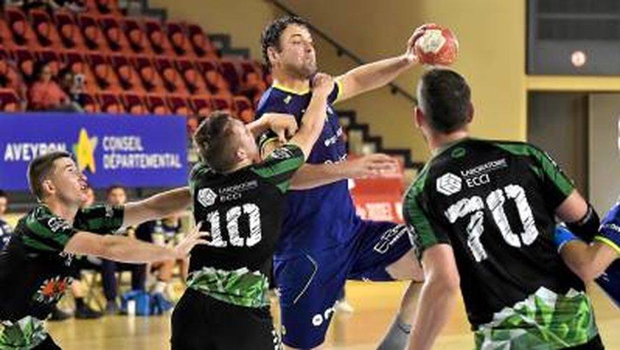 Handball : le Roc sans forcer son talent