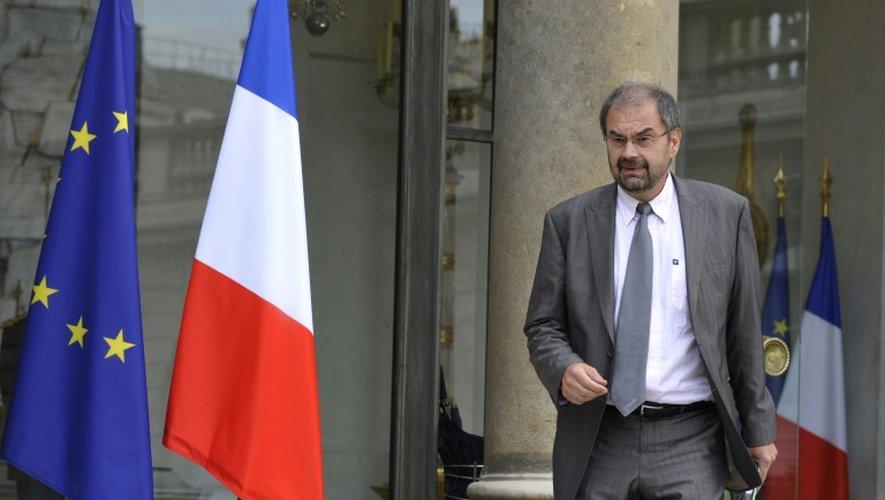 François Chérèque sur le perron de l'Elysée le  14 septembre 2009 à Paris