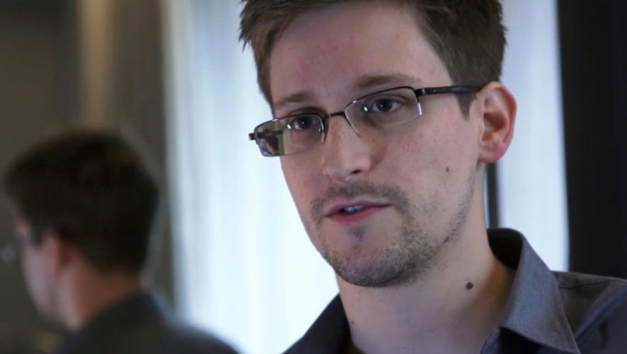 Capture d'écran d'une video d'Edward Snowden enregistrée le 6 juin 2013 à Hong Kong