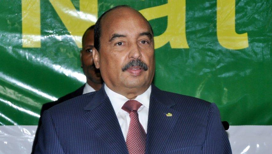Le président mauritanien Mohamed Ould Abdelaziz, le 20 octobre 2016 à Nouakchott