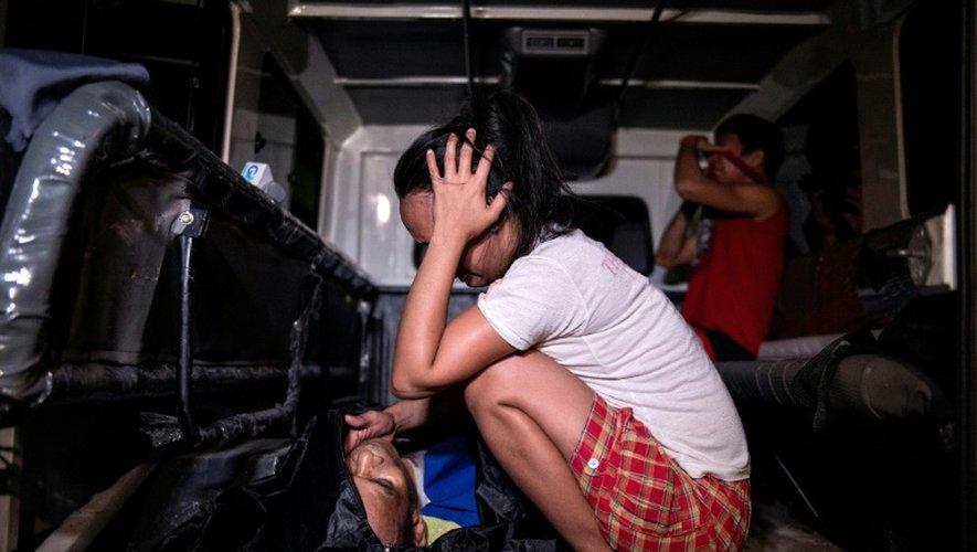 Le corps d'un trafiquant de drogue présumé tué à Manille, aux Philippines, le 4 janvier 2017