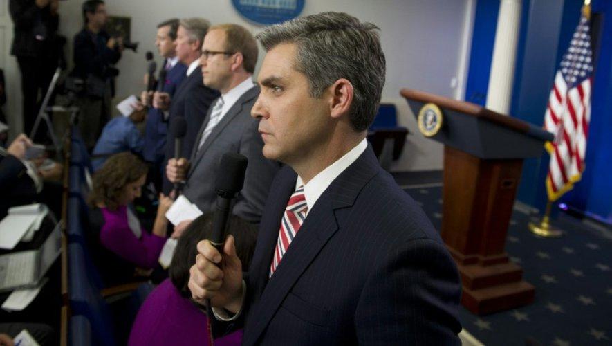 Le journaliste Jim Acosta (ici le 8 octobre 2013 à Washington) de CNN a été conspué par Donald Trump lors de la première conférence de ce dernier en tant que président élu