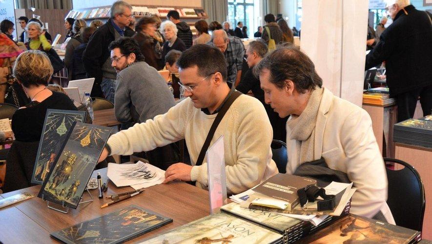Guilhem Bec et  Richard Marazzano en lice à Angoulême.
