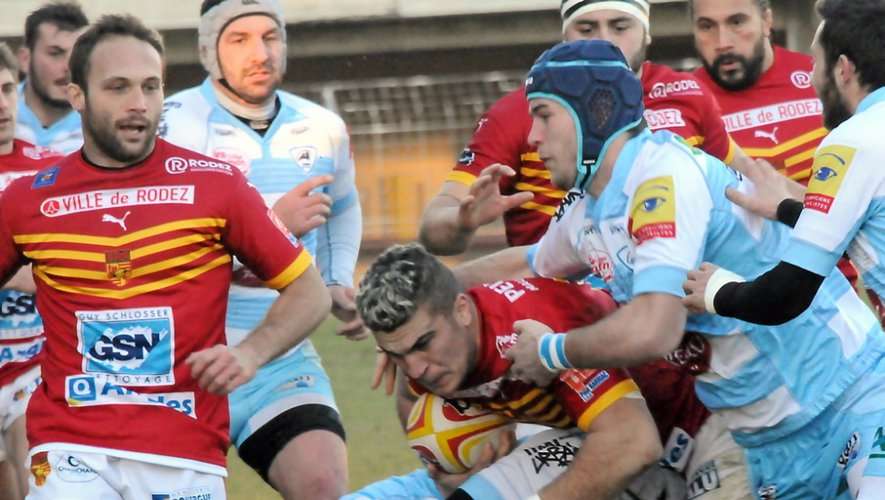 Rugby : Rodez s'incline à Agde