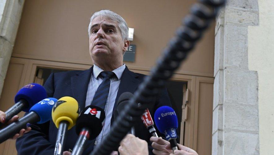 Le procureur de Valence Alex Perrin, au tribunal de Valence le 2 janvier 2016