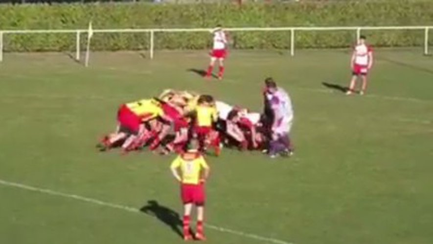 Quand un jeune rugbyman d'Espalion se prend pour Messi !