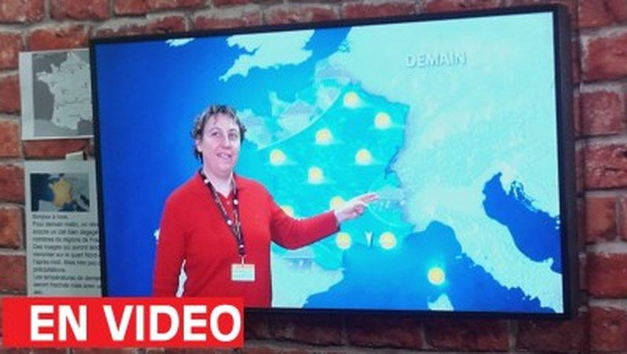 L'accordéoniste Sylvie Pullès, nouvelle présentatrice météo de France 3