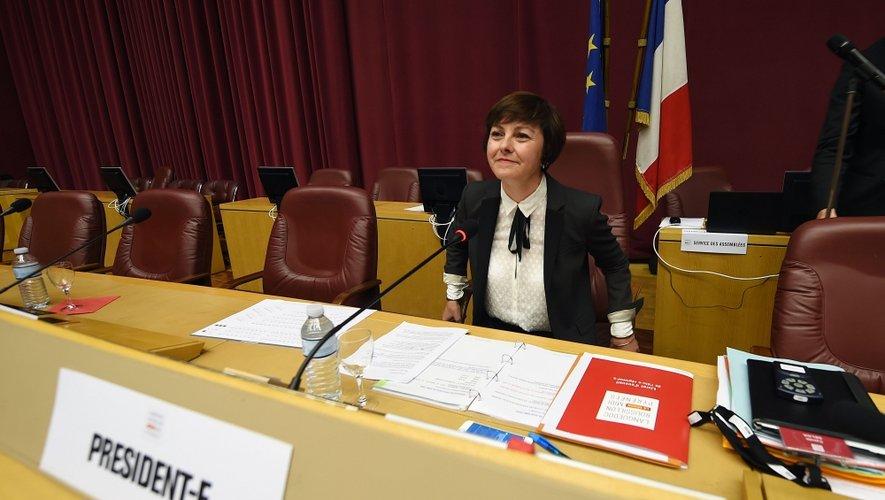 Carole Delga a été élue, hier, présidente de la région Midi-Pyrénées-Languedoc-Roussillon.