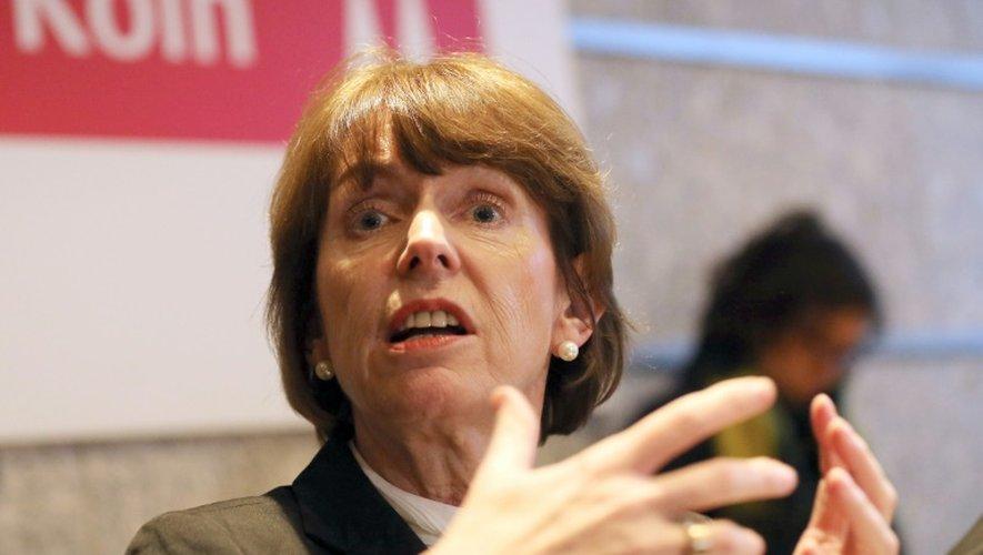 La maire de Cologne, Henriette Reker, pendant une conférence de presse le 7 janvier 2016 à Cologne