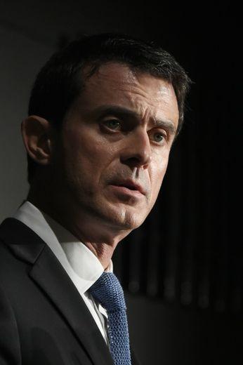 Manuel Valls à Evry, le 8 janvier 2016