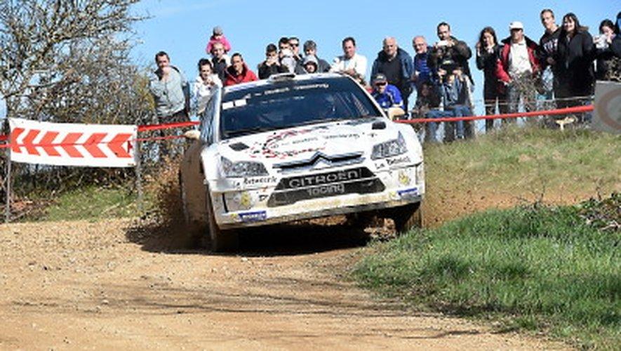 Un plateau d'exception en piste pour le 22e rallye Terres des Causses
