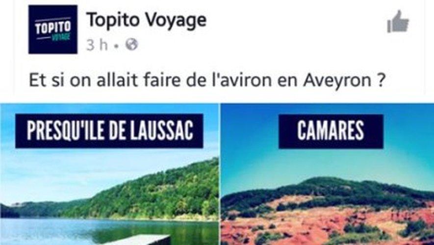 Quand Topito s'intéresse à l'Aveyron, en dehors des sentiers battus...