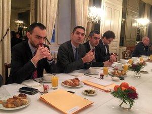 Aveyron : le préfet Louis Laugier fait le tour des dossiers
