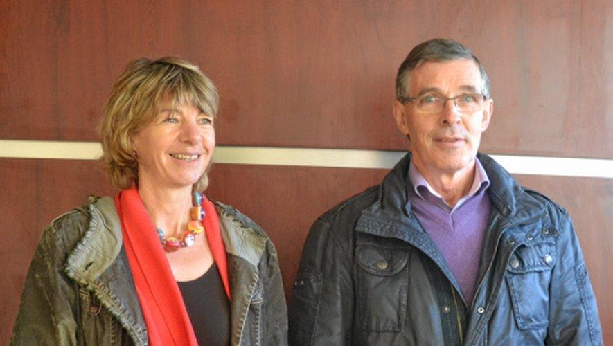 Anne Blanc et Jean-Marie Pialat ont annoncé lundi leur candidature.