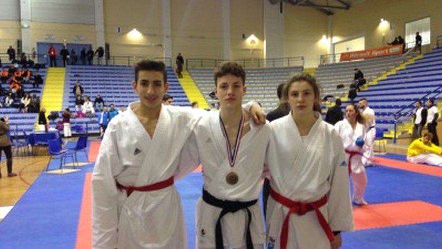Trois représentants du Sakura Judo au championnat de France