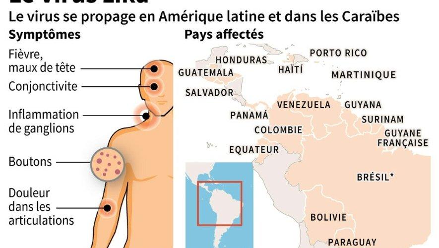 Face au virus Zika, un conseil inédit : ne pas tomber enceinte en Amérique latine