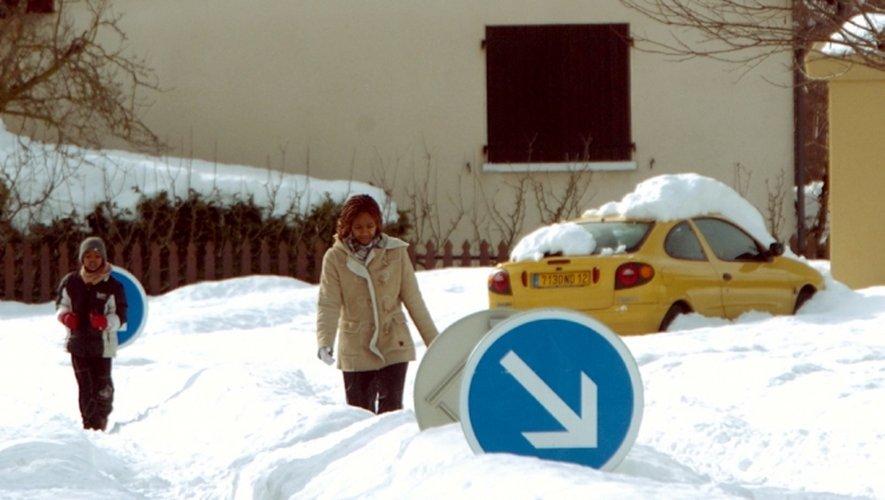 Il y a dix ans jour pour jour, l'Aveyron pliait sous la neige...