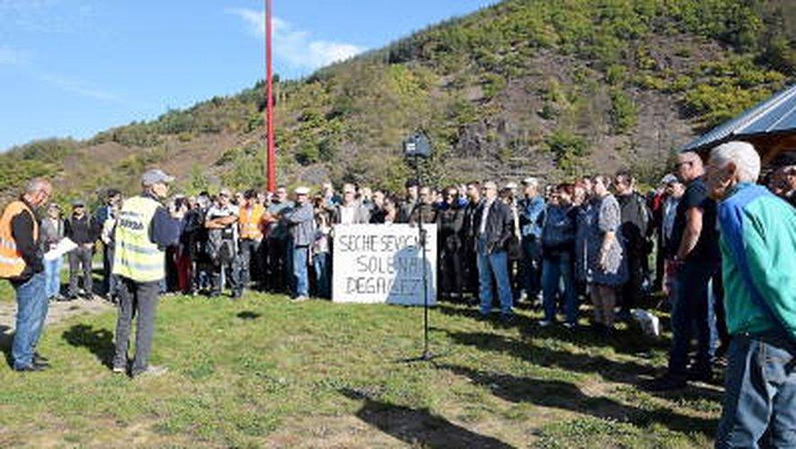 Traitement des ordures ménagères : les opposants au projet Solena manifestent dans le Bassin