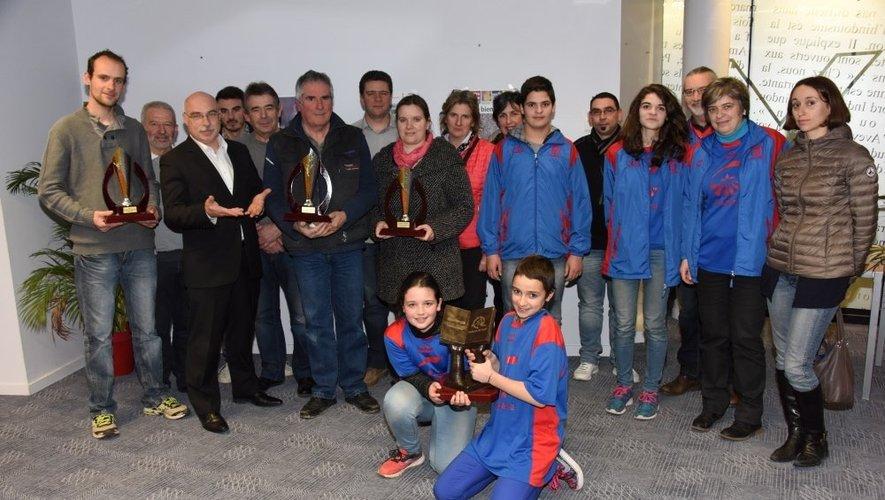 Lassouts remporte le Challenge Centre Presse.