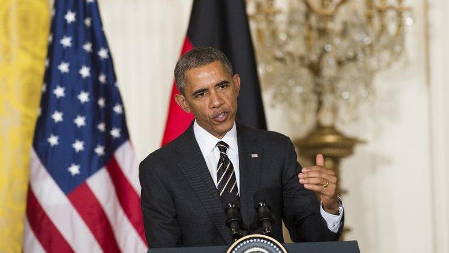 Obama: les Etats-Unis n'ont pas encore décidé d'armer ou non l'Ukraine