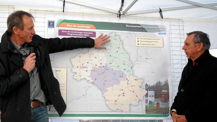 Jean-Claude Luche, président du conseil général pense que cette 14e aire «sera la plus fréquentée du département.»