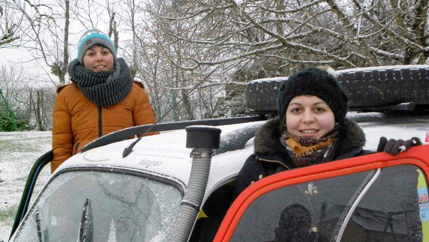 Léna Lortal et Anne-Sophie Thomazeau s'élanceront jeudi 19février de Biarritz.