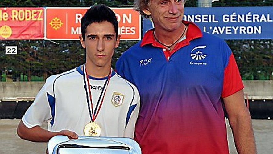 Julien Galdemar intègre l'équipe fanion de Saint-Amans-des-Cots.