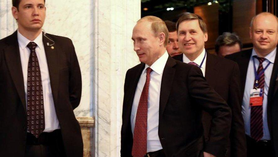 """Ukraine: Poutine annonce un """"accord sur l'essentiel"""""""
