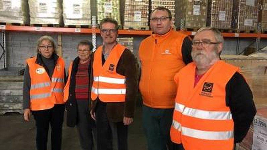 En un week-end, la Banque alimentaire Aveyron-Lozère récolte l'équivalent de 136 000 repas