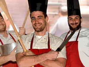 Les joueurs du SRA passent en cuisine au service du club