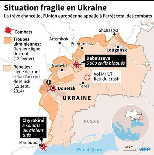 Situation fragile en Ukraine