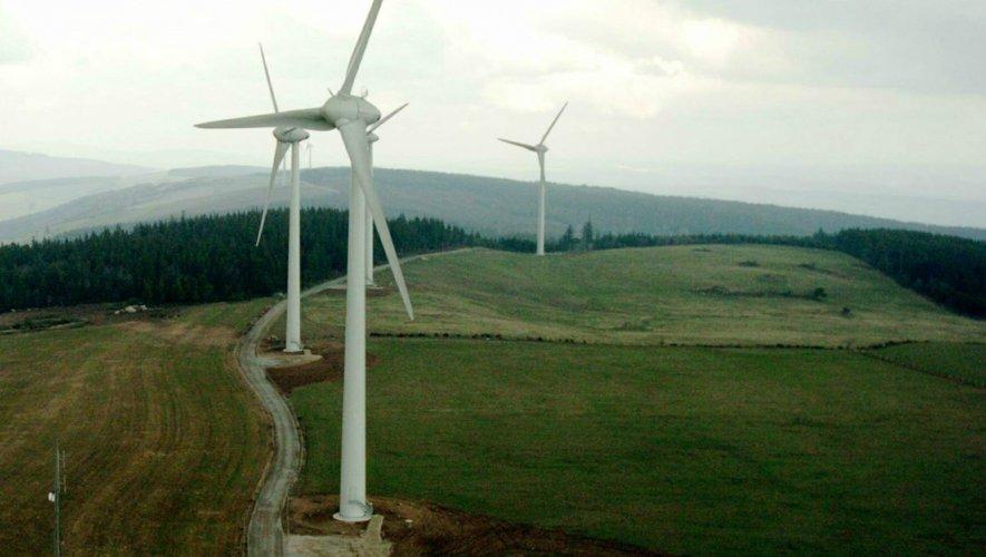En 2015, 122 mâts éoliens supplémentaires seront implantés dans la vallée de l'Aveyron et le sud du département.