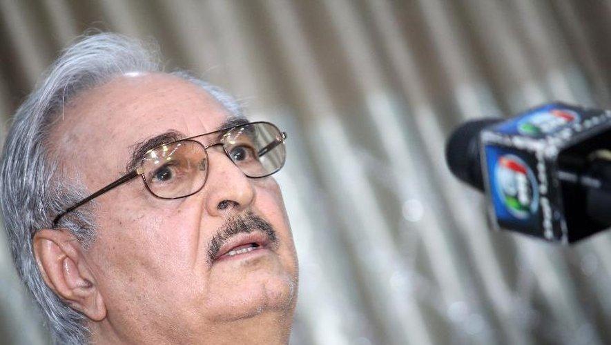 Libye: le général Haftar nommé à la tête de l'armée du gouvernement reconnu