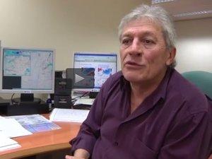 Joël Collado, alias Monsieur météo, en conférence à Decazeville