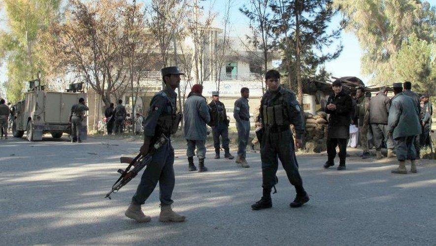 Afghanistan: 7 morts et 41 blessés dans un attentat suicide dans le Sud