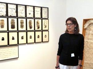 Caroline de Monaco à l'expo Construire une collection