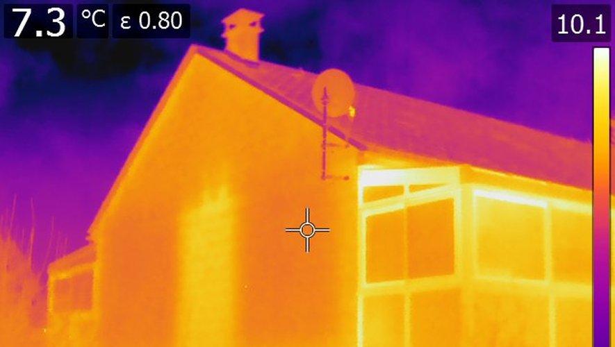 Energie : des drones traquent les pertes de chaleur à Rodez