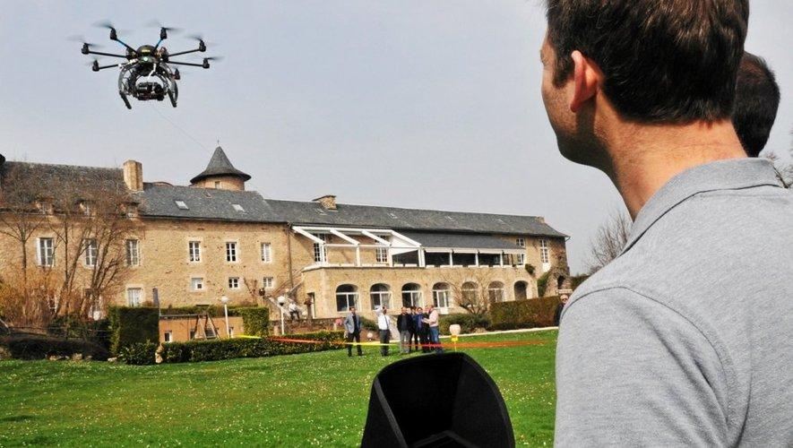 Avec leur drone, les opérateurs de StudioFly ont thermographié 150 maisons.