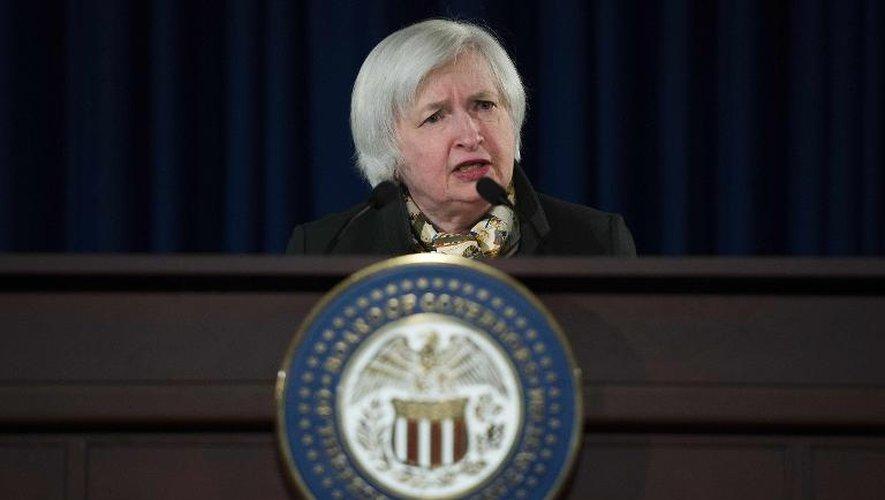 """La Fed """"pense sérieusement"""" relever ses taux cette année, affirme la présidente de la Fed"""