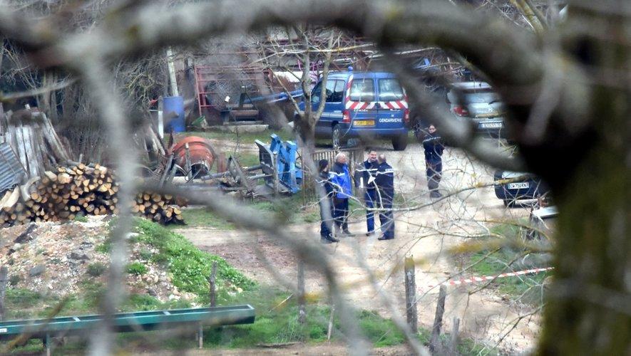 Les gendarmes ont déployé ce matin sur place d'importants moyens d'enquête.