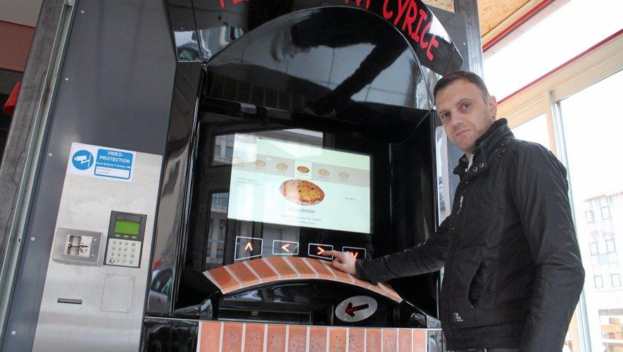 Au quartier St-Cyrice des pizzas en libre-service