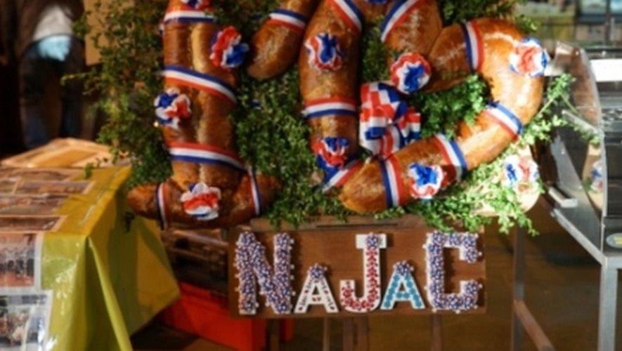De délicieux produits se dégusteront au Salon du goût de Najac.