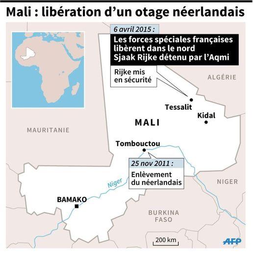 Mali : libération d'un otage néerlandais